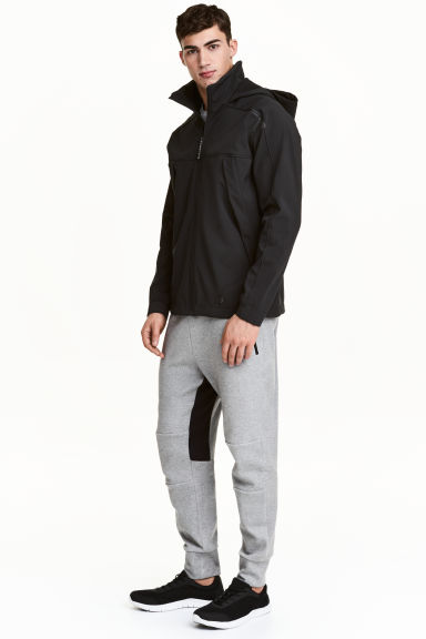 Jersey sports joggers - Grey marl - Men | H&M CN 1