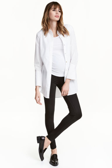 MAMA Jersey leggings - Black - Ladies | H&M 1