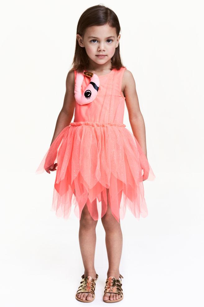 Dance dress - Neon pink/Flamingo - Kids | H&M GB