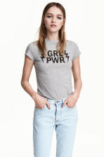 T-shirt - Grigio - DONNA | H&M IT 1