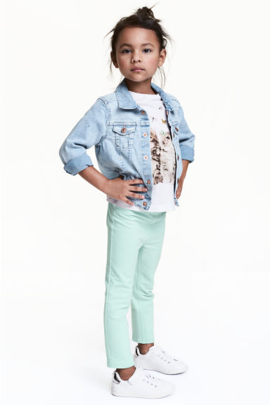Treggings - Mint - Kids | H&M CN