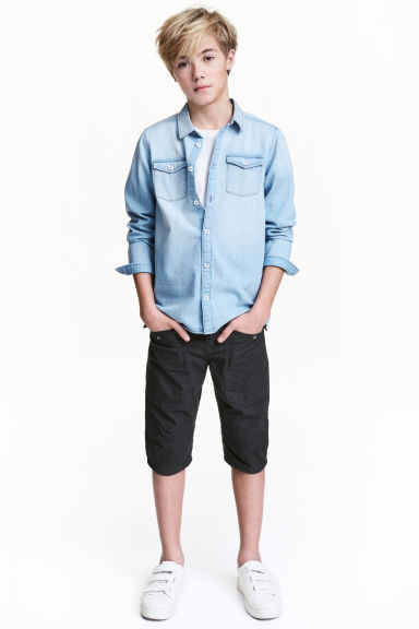 Clamdiggers - Black - Kids | H&M 1