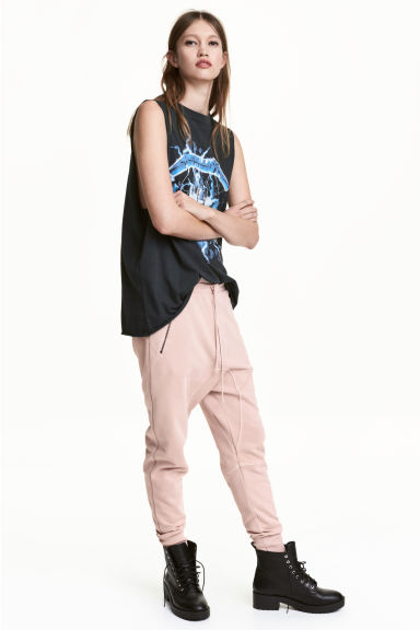 Sweatpants - Powder - Ladies | H&M CN 1