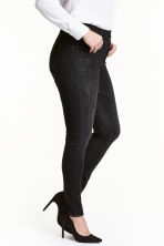 H&M+ 360 Shaping Skinny Jeans - Black denim -  | H&M CA 1