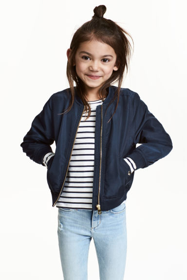 Bomber - Blu scuro - BAMBINO | H&M IT