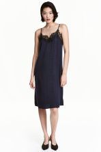 Slip dress - Black - Ladies | H&M CN 1
