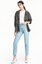Straight High Jeans - Bleu denim clair - FEMME | H&M FR 1