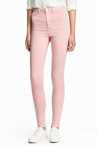 Super Skinny High Jegging - Rose clair -  | H&M FR 1