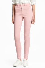 Super Skinny High Jeggings - 浅粉红 -  | H&M CN 1