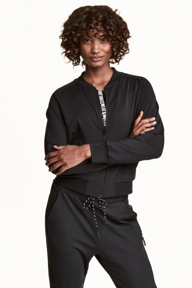 Sports jacket - Black - Ladies | H&M 1