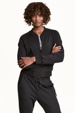 Sports jacket - Black - Ladies | H&M CN 1