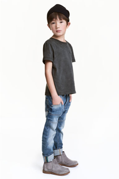 Tapered Jeans - Blu denim - BAMBINO | H&M IT 1