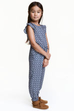 Patterned jumpsuit - Blue - Kids | H&M CN 1