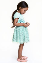 Gonna in tulle glitter - Verde menta - BAMBINO | H&M IT 1