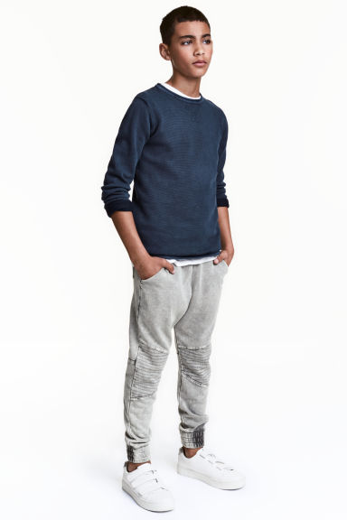 Joggers - Grey washed out -  | H&M CN 1
