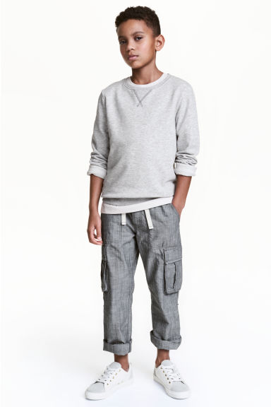 Cargo trousers - Dark grey - Kids | H&M