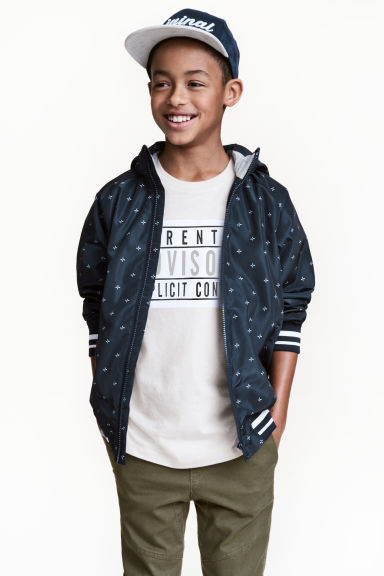 Outdoor jacket - Dark blue - Kids | H&M CN 1