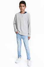Superstretch Skinny fit Jeans - 浅牛仔蓝 - Kids | H&M CN 1