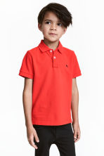 Polo shirt - Red - Kids | H&M CN 1