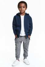 Joggers - Dark blue/Narrow striped - Kids | H&M CN 1