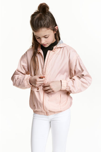 防風外套 - Powder pink - Kids | H&M 1