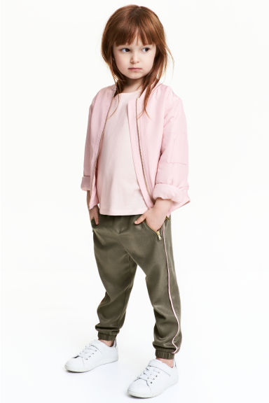 Pantaloni pull-on - Verde kaki - BAMBINO | H&M IT 1