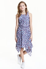 Sleeveless dress - Light blue/Patterned - Kids | H&M 1