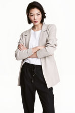 開襟衫 - Light beige marl - Ladies | H&M 1