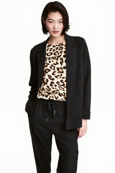 Cardigan - Black - Ladies | H&M CN 1