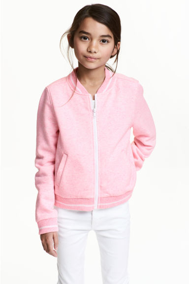Sweatshirt jacket Model