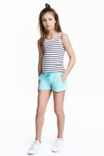 Jersey shorts - Turquoise - Kids | H&M 1