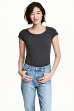 2-pack tops - Light pink/Dark grey - Ladies | H&M CN 1