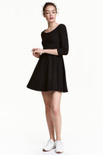 Jersey dress - Black - Ladies | H&M GB 1