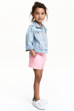 Shorts in jersey - Rosa mélange - BAMBINO | H&M IT 1