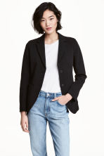 Cotton twill jacket - Black - Ladies | H&M CA 1