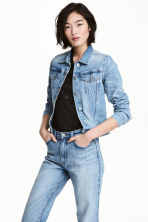 Denim jacket - Denim blue - Ladies | H&M CA 2