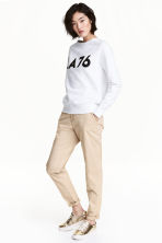 Chinos - Light beige - Ladies | H&M 1