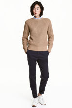 Chinos - Dark blue - Ladies | H&M 1
