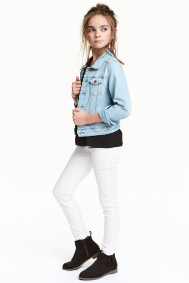 Skinny Fit Jeans - White - Kids | H&M 1