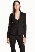Fitted jacket - Preto -  | H&M PT 1
