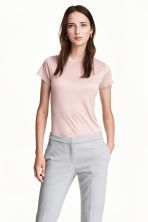 Top in jersey - Rosa cipria - DONNA | H&M IT 1