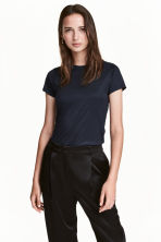 Jersey top - Dark blue -  | H&M 1