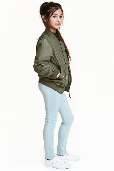 Treggings - Light blue washed out -  | H&M 1