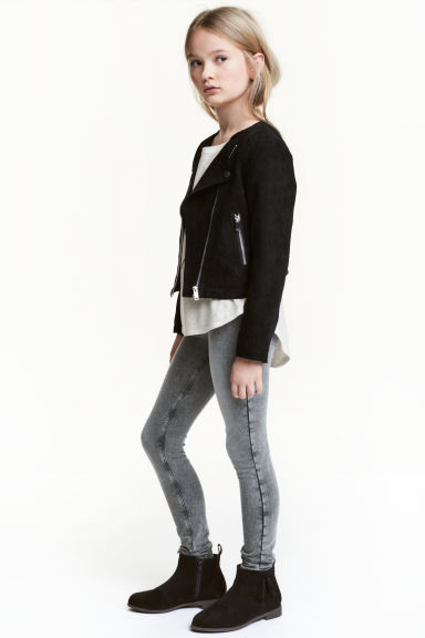 Treggings - Grey washed out - Kids | H&M 1