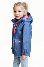 Shell parka - Blue -  | H&M CA 1