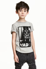 T-shirt avec impression - Gris/Star Wars - ENFANT | H&M CH 1