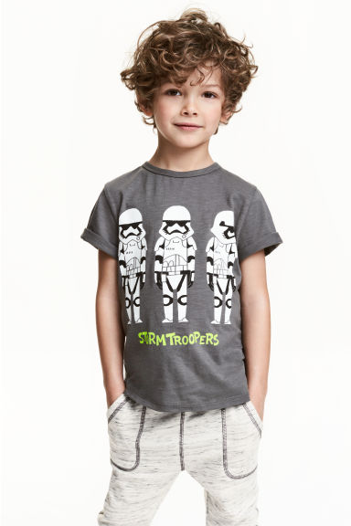 T-shirt con stampa - Grigio scuro/Star Wars - BAMBINO | H&M IT 1