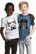 2-pack T-shirts - Blue/Star Wars - Kids | H&M 1