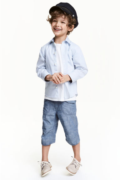 Clamdiggers - Denim blue - Kids | H&M CN 1