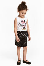 Jersey dress - White/Minnie Mouse - Kids | H&M CN 1